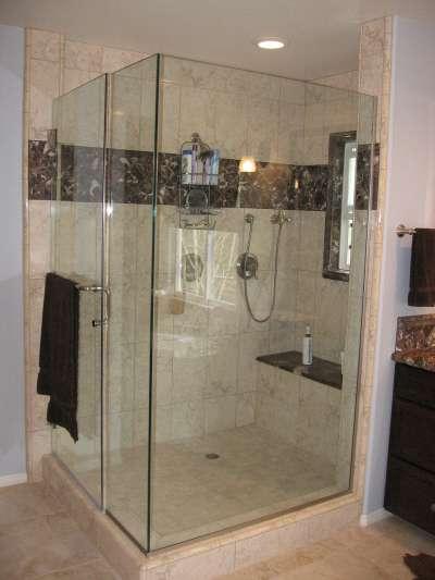 unblock shower